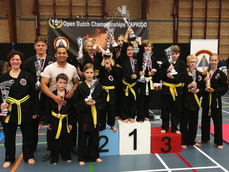 Hapkido kids drunen bij ASM Sports martial arts en fitness Drunen